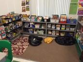 Organized Classroom Library