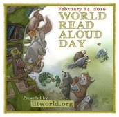 World Read Aloud Day February 24