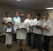 Culinary Students Cook for Board Members