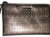 Metallic Perforated Clutch
