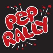 Pep Rally Friday