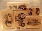 Tractor Time set of 6
