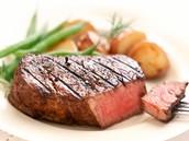 Steak with Sweet Potatoes