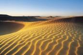 The beautiful sands of the Sahara Desert