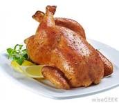 El pollo asado