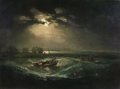 Fishermen At Sea by JMW Turner, 1794