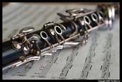 Clarinet close-up