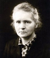 Marie Curie at older age