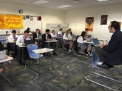 Mr. Chmiel's Spanish class in action!