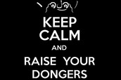 Keep calm and raise your dongers