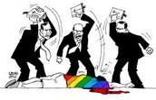 Homofobia.