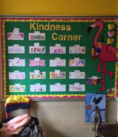 Got Kindness?  Write a Note in the Kindness Corner