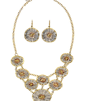 Kari Necklace and Earring Set $32.00