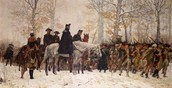 Camping at Valley Forge