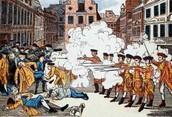 The Boston Massacre of 1770