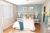Spacious Bedrooms With Generous Closet Space