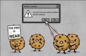 Evitar aceptar las condiciones de las cookies
