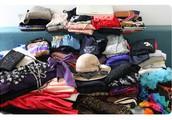 אוסף בגדי וינטג' ויד שנייה למסירה