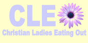CLEO--Christian Ladies Eating Out