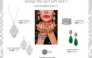 Spend $50, get 50% off! - starts Nov 1