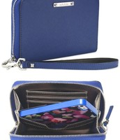 Tech wallet - cobalt blue