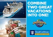 Two unforgetable vacations!! Royal Caribbean / Universal