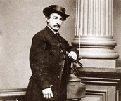 """Booth took only a velvet cased compass, keys, whistle, a date book, a pencil, some money, a small knife, and a few other small items, including small photographs of five of his favorite girlfriends""."