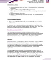 Commercial Sales Account Executive pg. 2