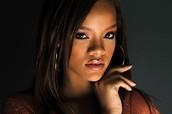 Rihanna lives in U.S