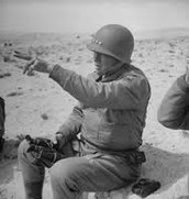 General Patton in North Africa