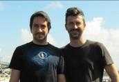 Cândido Cruz e Paulo Pinheiro