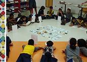 Atividade no Centro Pedagogico