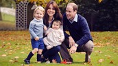 Prince William and Princess Kate with their children