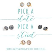 Pick a Date for a show, pick a pair of stud earrings - on me!