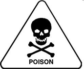 Why are poisons harzardous?