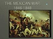 1846- US declares war against Mexico