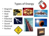 What are the types energy?