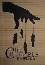 "What commentary does ""The Crucible"" say about two of the following themes: reputation, power, and revenge?"