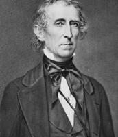 US President John Tyler