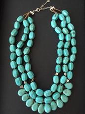 Beautiful Drops  of Ocean necklace