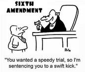 Sixth Amendment: Right to a Fair and Speedy Trial