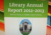 What Happens in the Library Doesn't Have to Stay in the Library! Start Creating Your Annual Report Now!