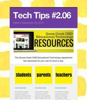 Ed Tech Resources