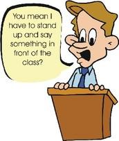 Presenting - Speaking Elements