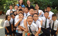 The kids of Thailand