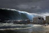 over 100 foot tsunami