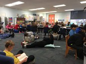 5th graders read in all sorts of ways