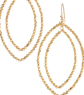 Bardot Hoops - Gold - SOLD!!