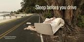 SLEEP BEFORE YOU DRIVE