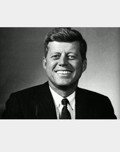 """Ask not what your country can do for you, ask what you can do for your country."" John F. Kennedy"